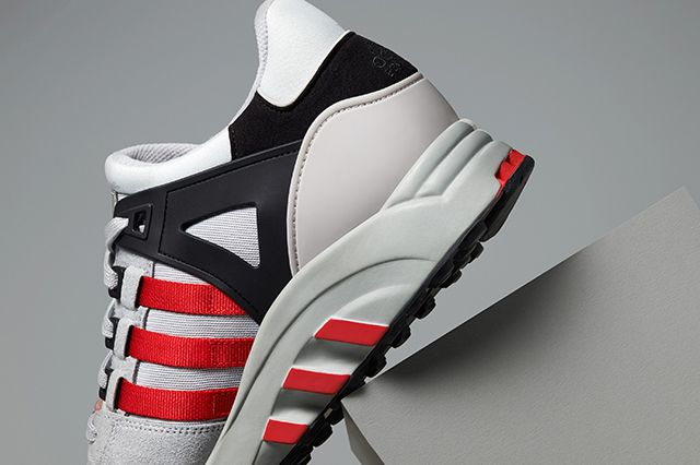 Adidas Eqt Running Support 93 Toro Red Ice Grey 3