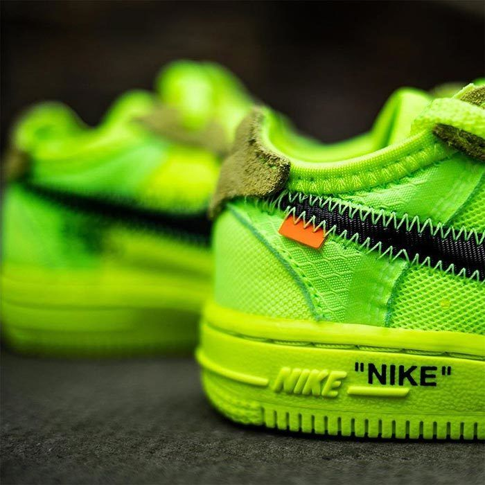 Off White Air Force 1 Volt Toddler 3