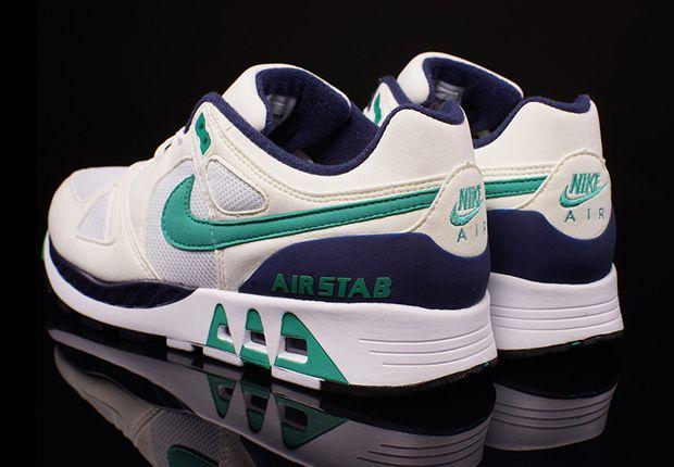 Air Stab White Emerald Green Midnight Navy 1