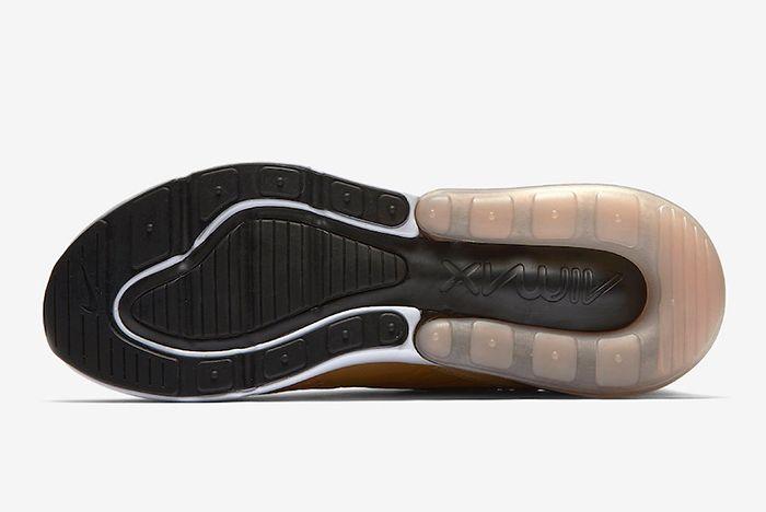 Nike Air Max 270 Elemental Gold Ah8050 700 Release Date Outsole Sneaker Freaker
