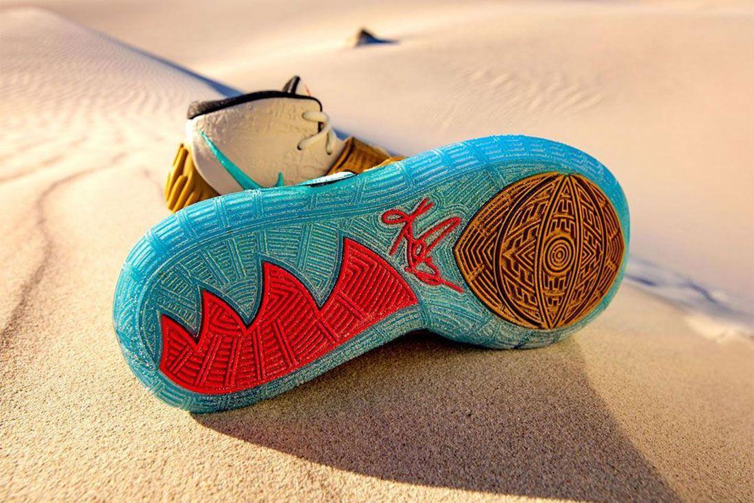 Nike Kyrie 6 Golden Mummy Sand 2