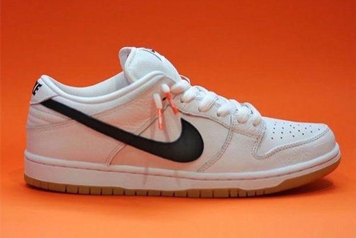 Nike Sb Dunk Low Orange Label White Side