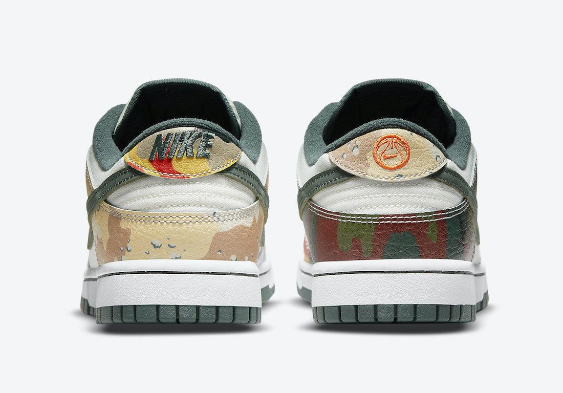Nike Dunk Low Multi Camo DH0957-100