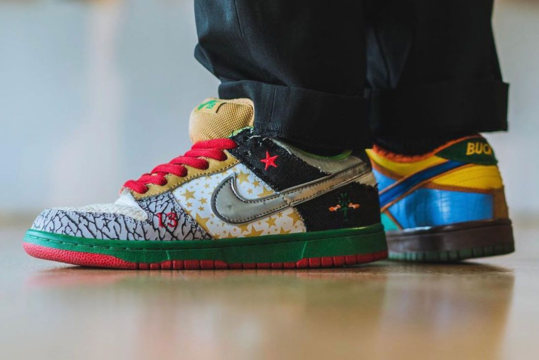 Nike Sb What The Dunk On Foot