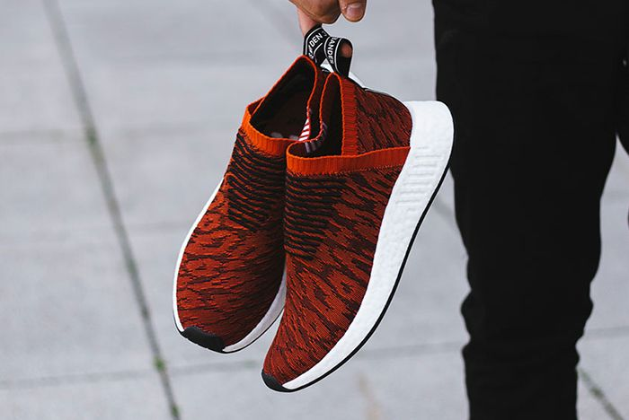 Adidas Nmd City Sock 2 Harvest Red 2