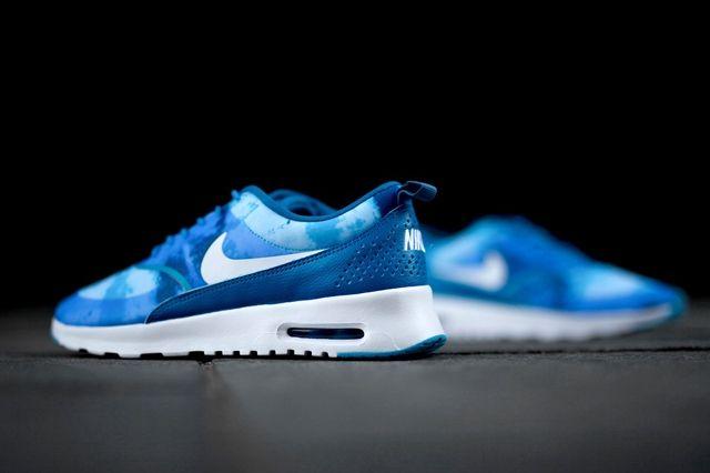 Nike Air Max Thea Print Blue Lacquer 1