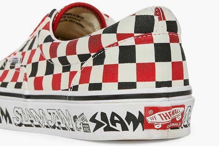 Slam Jam X Vans Slip On 8