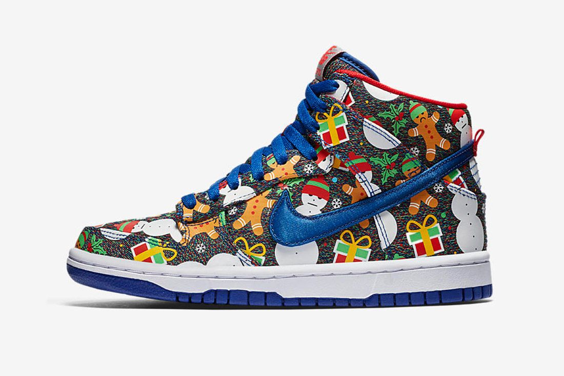 Conceptsnike Sb Ugly Christmas Sweater Dunk 8