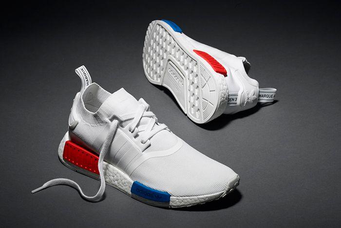 Adidas Nmd R1 Pk White Og8