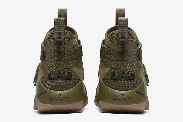 Nike Lebron Soldier 11 Olive 5