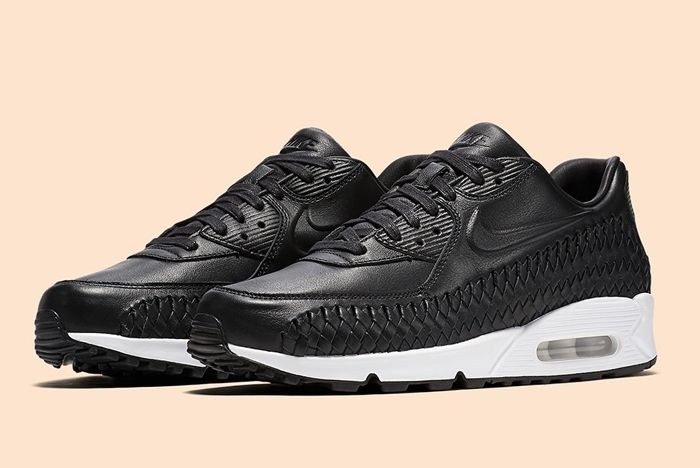 Nike Air Max 90 Woven Black White 4