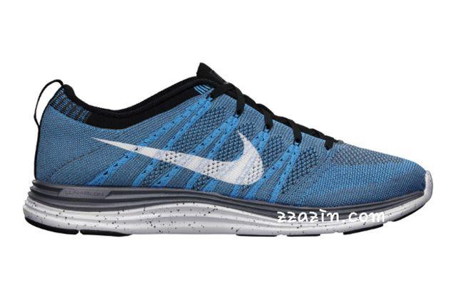Nike Flyknit Lunar1 Grey Blue 1