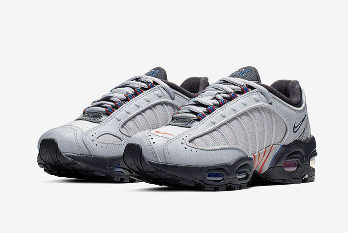 Nike Air Max Tailwind 4 Grey Ck0700 001 Three Quarter Angle Side Shot