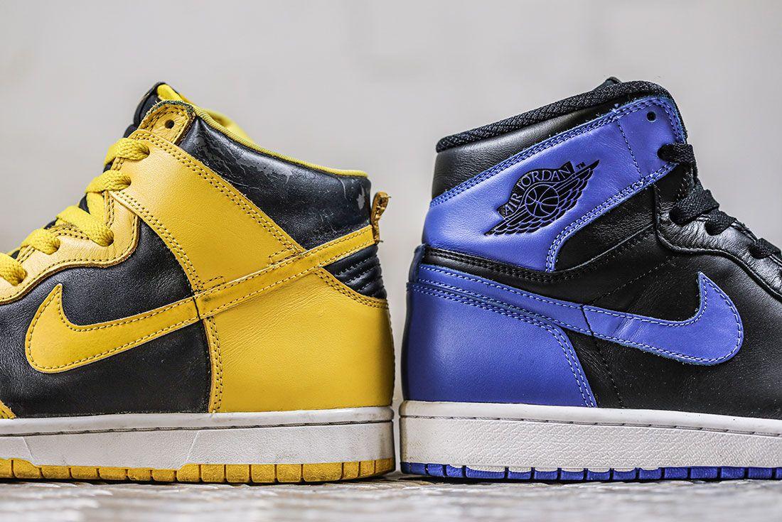 Nike Dunk Versus Air Jordan 1: Breaking