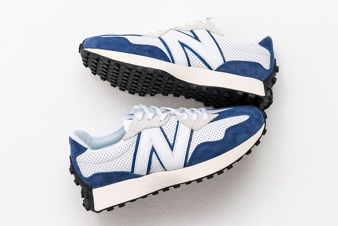 New Balance 327 Primary Pack Blue