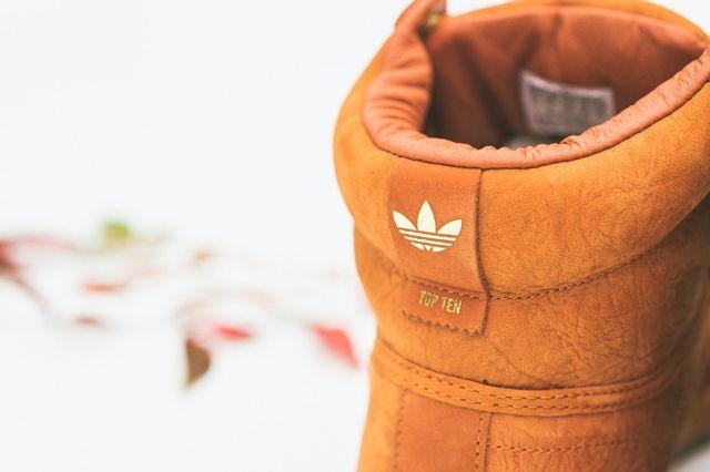 Adidas Originals Top Ten Hi Fox Red 5