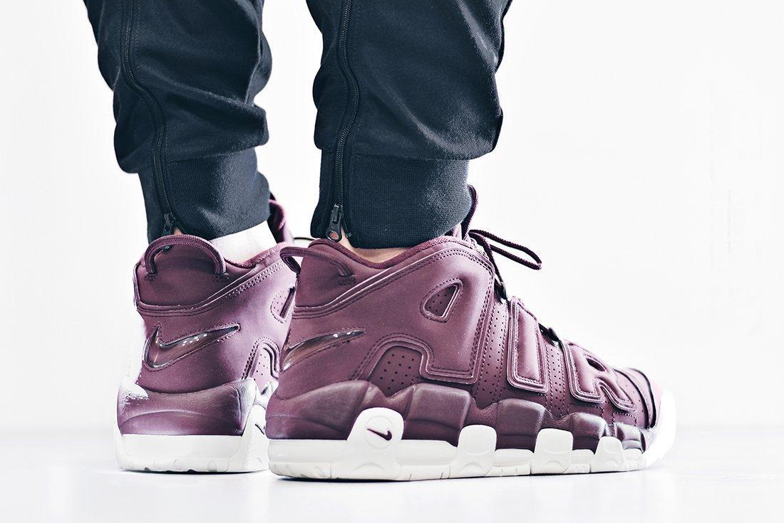 Nike Air More Uptempo Bordeaux3
