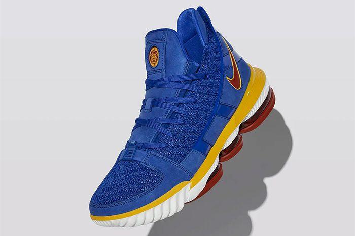 Nike Lebron 16 Sb Blue Cd2451 400 1