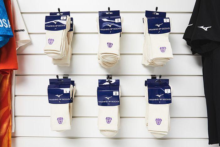 Footpatrol X Mizuno Sky Medal Socks
