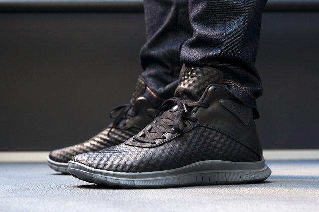 Nike Free Hypervenom Black Dark Grey 5