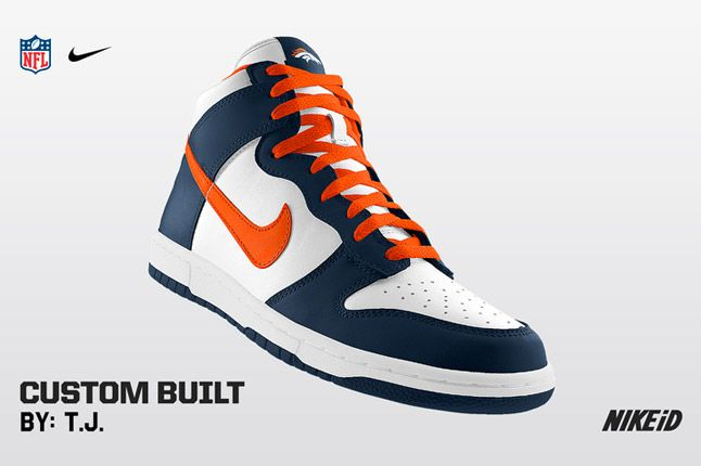 Nike Id Nfl Denver Broncos 1