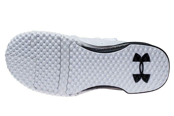 Ua Project Rock 1 White Black 5 Sneaker Freaker