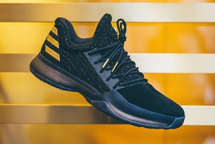 Adidas Harden Vol 1 Imma Be A Star Black Gold 1