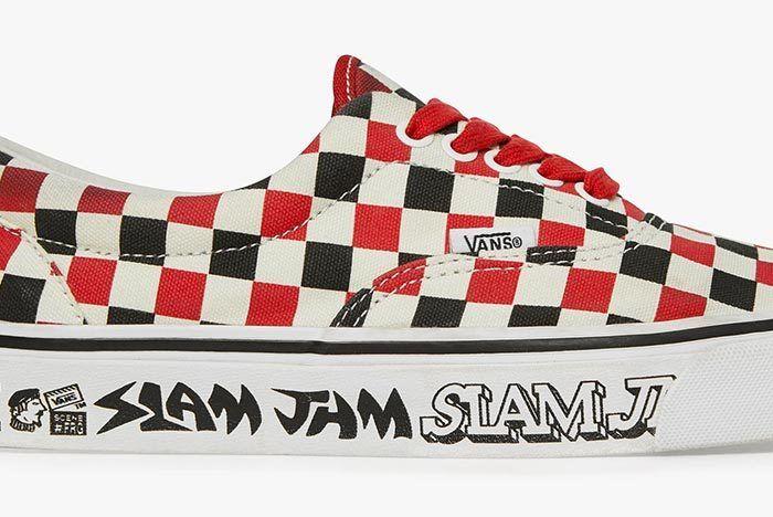 Slam Jam X Vans Slip On 7