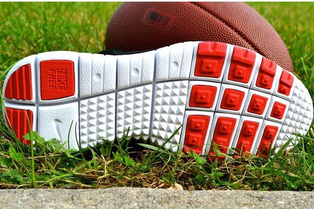Nike Huarache Free Shield Nyc Giants Sole 1