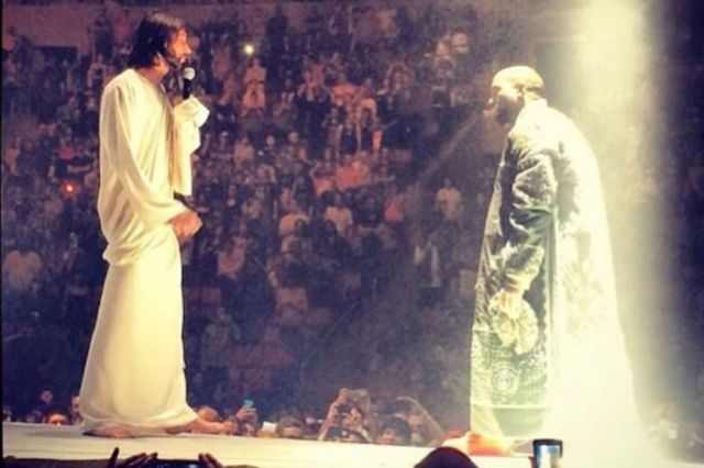 Kanye West Live Yeezy 2 Jesus