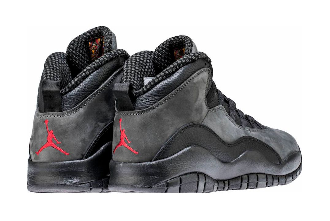 Air Jordan 10 X Shadow 2018 Release Date Heel Sneaker Freaker