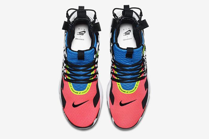 Acronym Nike Air Presto Mid Racer Pink Photo Blue 3
