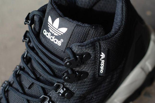 Adidas Torsion Trail Nightblk Tongue Detail