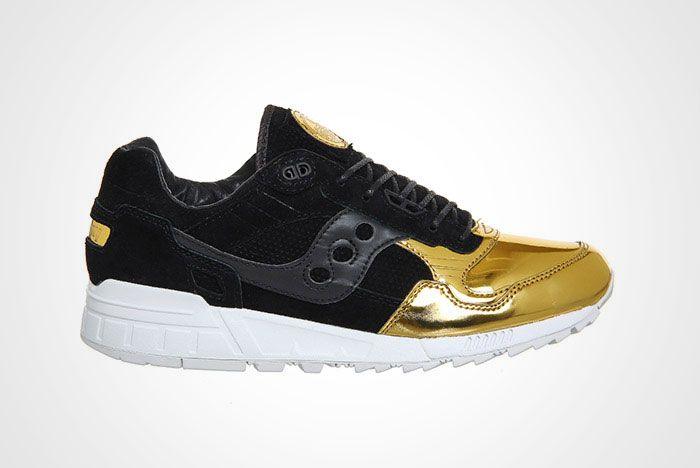 Offspring Diadora Shadow 5000 Medal Pack Black Gold Thumb