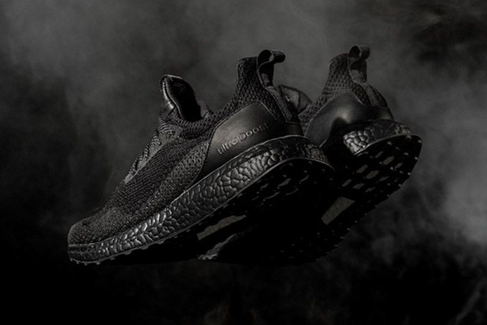 Haven X Adidas Consortium Ultra Boost Triple Black 3
