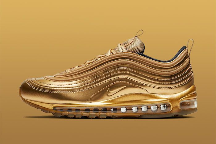 Nike Air Max 97 Gold Medal Ct4556 700 Lateral