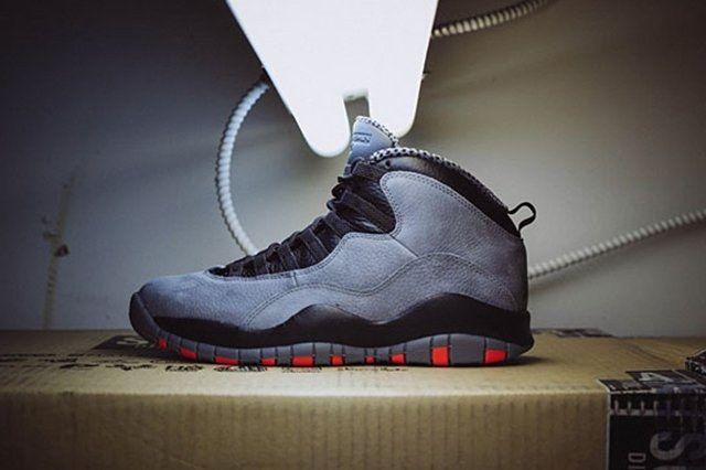 Air Jordan 10 Cool Grey Infrared
