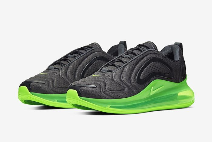 Nike Air Max 720 Black Volt Pair