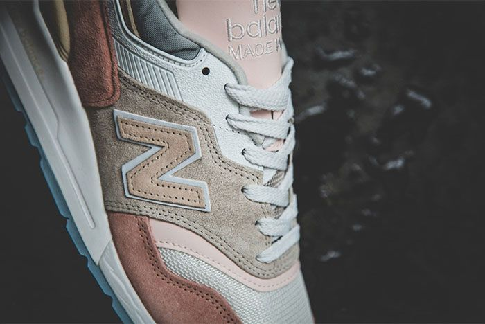 New Balance 997 Coastal Pack Pink Detail