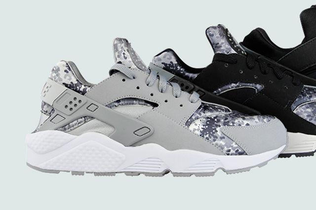 Nike Air Huarache Snow Camo Pack