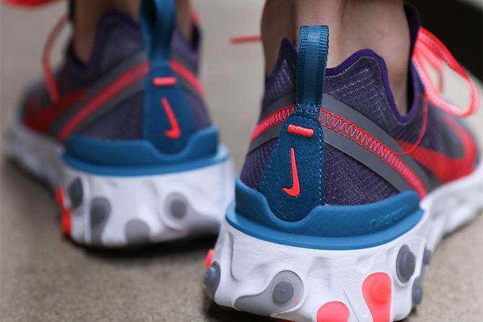Nike React Element 87 Red Orbit Cj6897 061 Release Date Heel Hero
