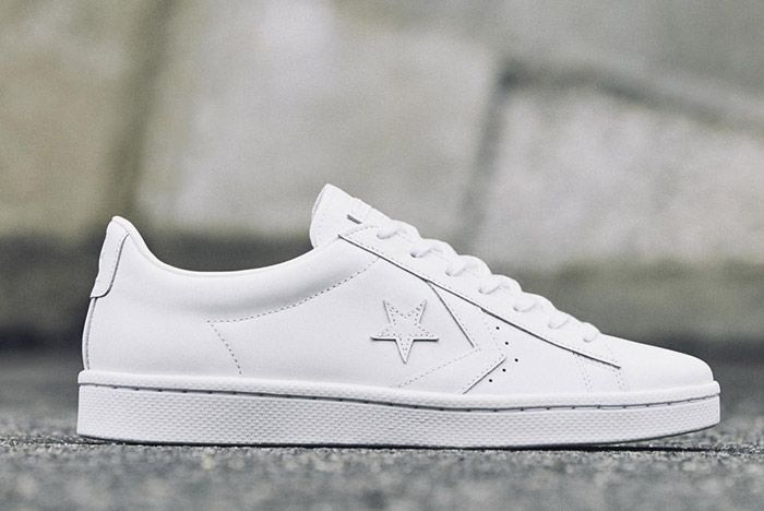 Converse Pro Leather 76 Mono Low White