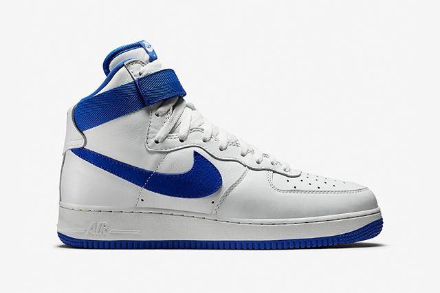 Nike Air Force 1 High Summit White Royal Blue