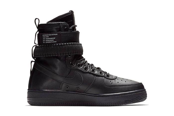 Nike Sf Af1 High Triple Black 3