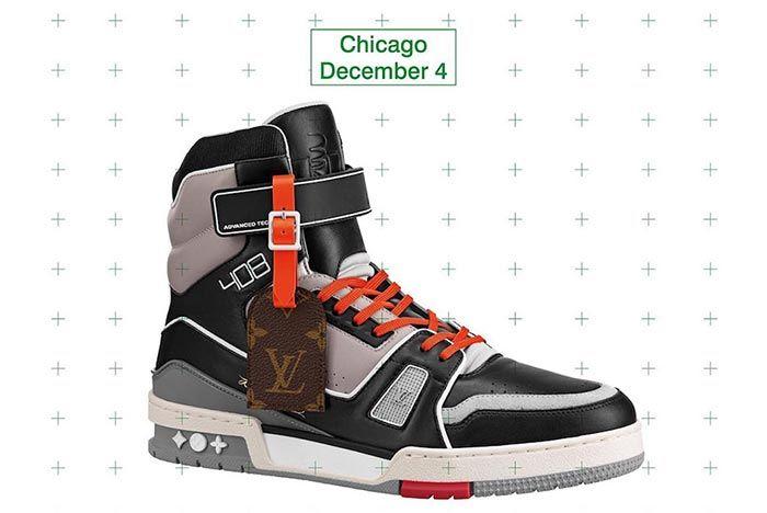 Virgil Abloh Louis Vuitton Lv408 Chicago