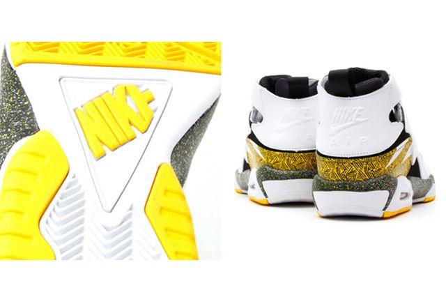 Nike Air Tech Challenge Huarache Og Black Tour Yellow 2
