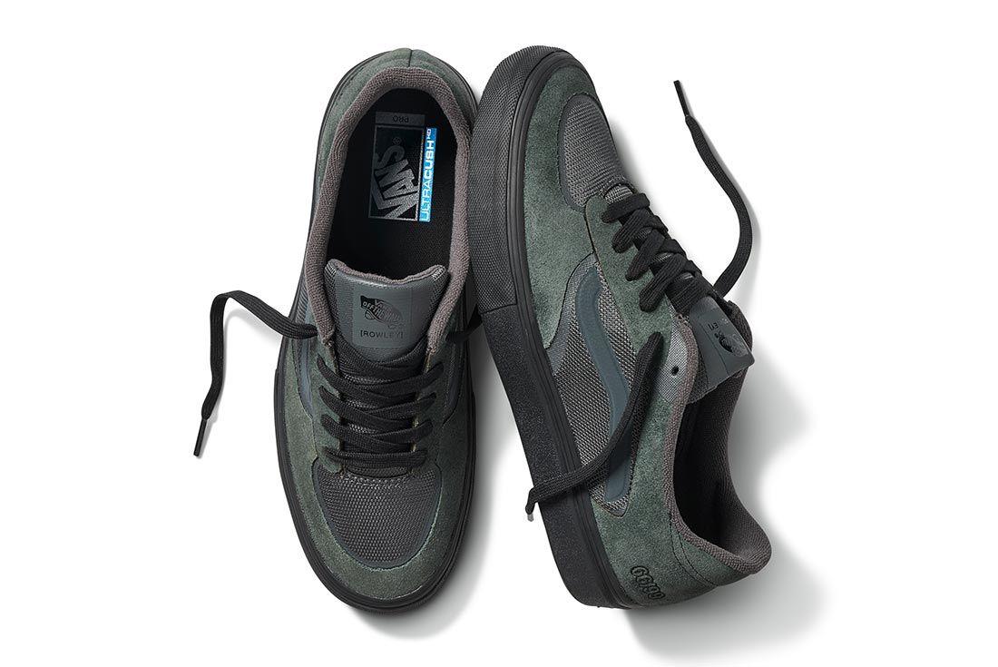 Geoff Rowley Vans Shoe Above Shot