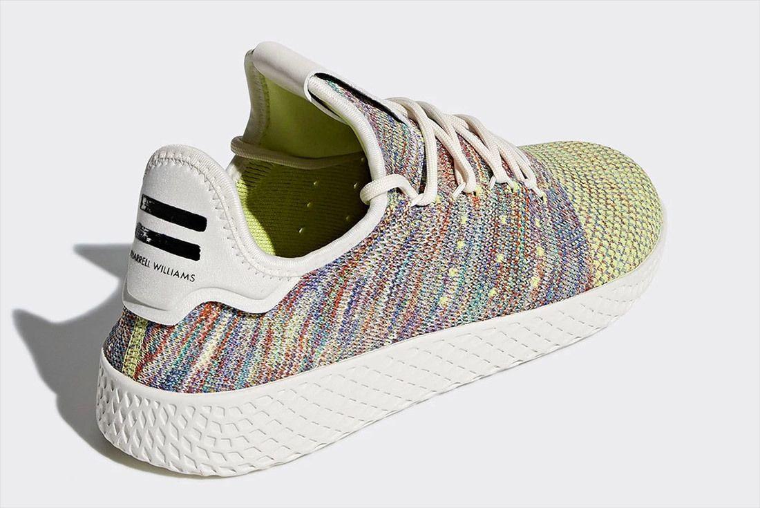 Pharrell Williams Adidas Tennis Hu Multicolour Rainbow 3