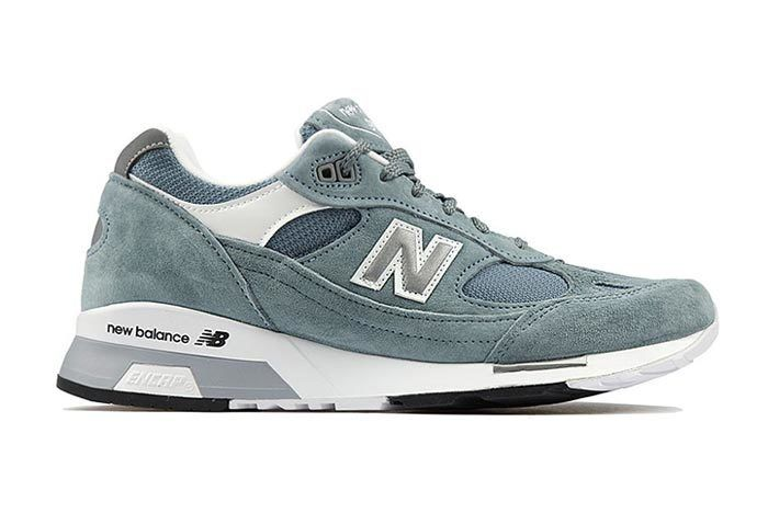 New Balance 991 5 Light Blue Grey 1