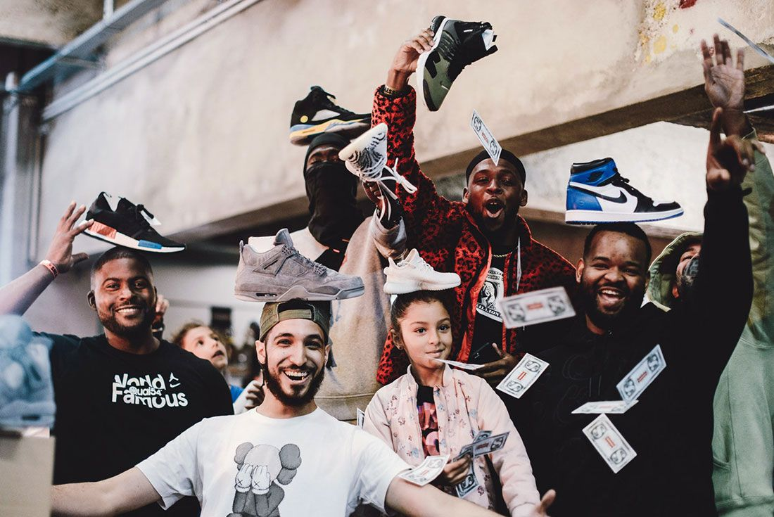 Sneakerness Paris 2018 Group Shot